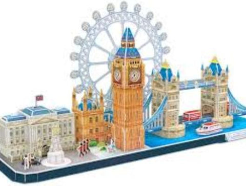A fine example of a 3D Jigsaw Puzzle
