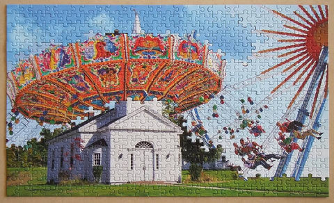 These days almost any artwork or photograph can be used for puzzle making and this is very good example of a fine art Jigsaw Puzzle
