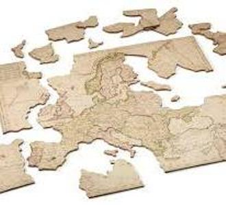 """John Spilsbury's """"dissected puzzle"""" also known as """"dissected map"""""""