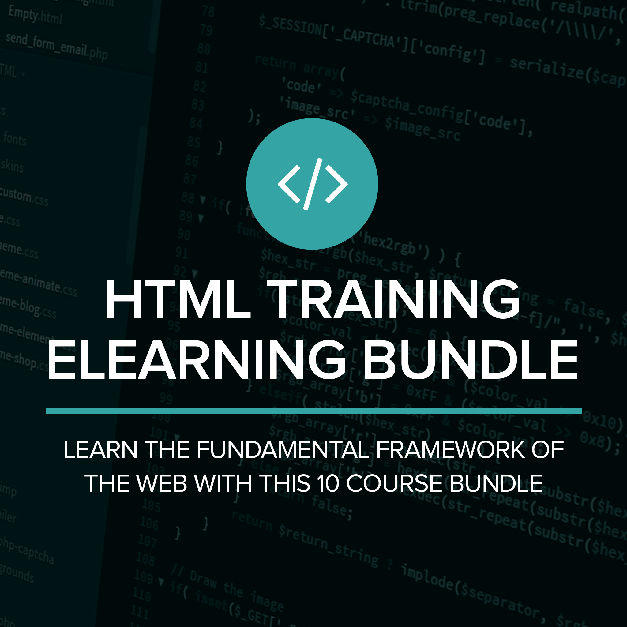 HTML Training eLearning Bundle
