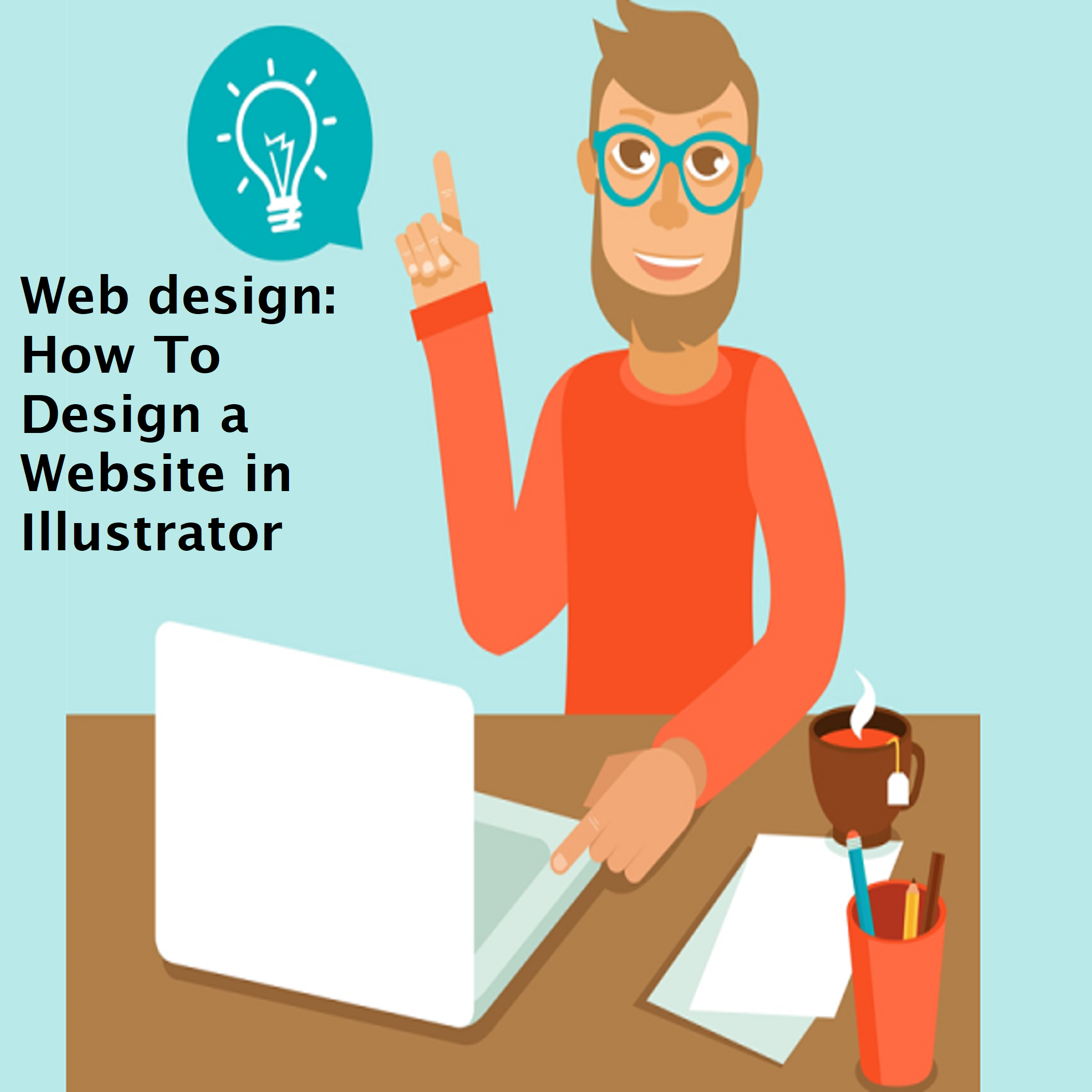 Web design: How To Design a Website in Illustrator
