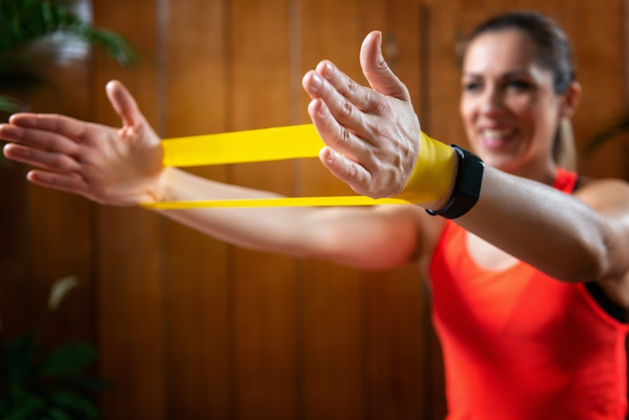 17 Resistance Band Workouts You Can Do From Home