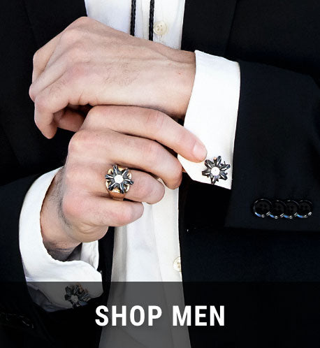 Shop Men's Bullet Bloom Jewelry