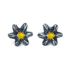 .380 Caliber Plume Earrings