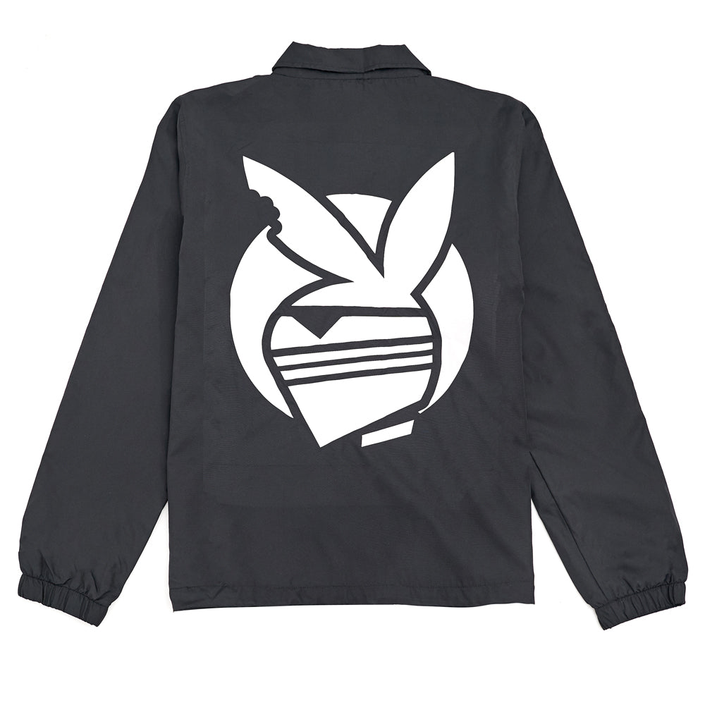 Eighty6 Bunny Coach Jacket - Black
