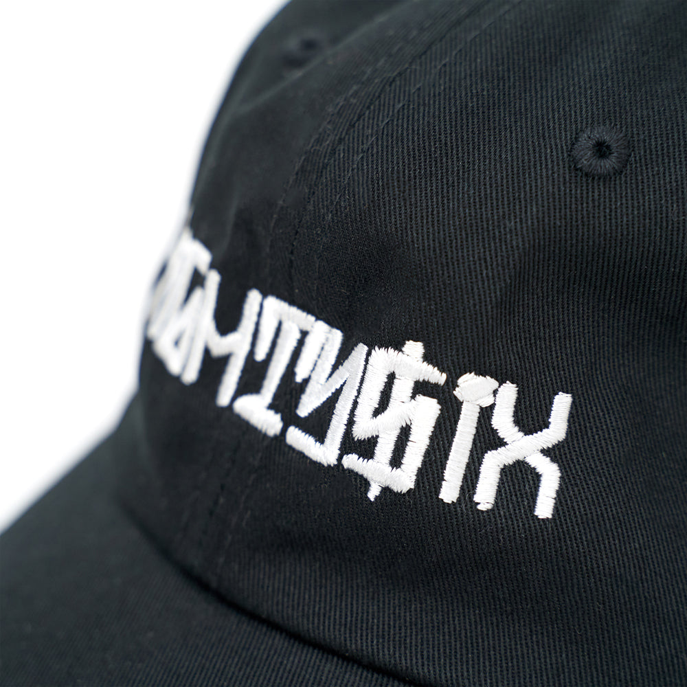 Eighty6 Script Dad Cap - Black