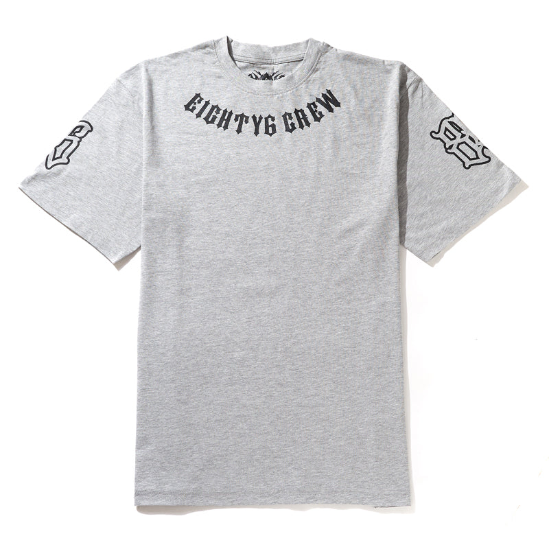 Eighty6 Crew Tee - Grey