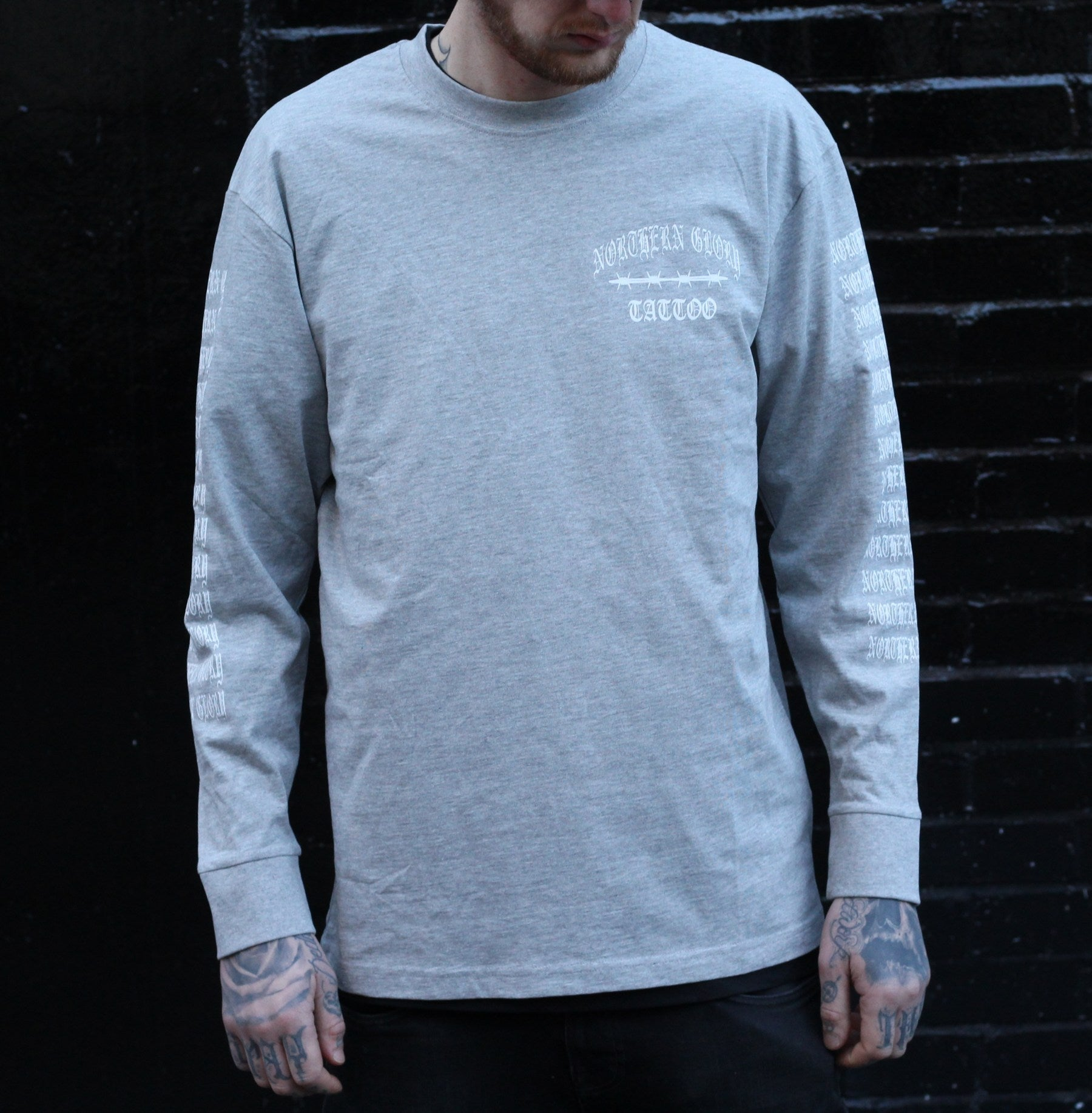 Northern Glory Longsleeve Tee - Grey