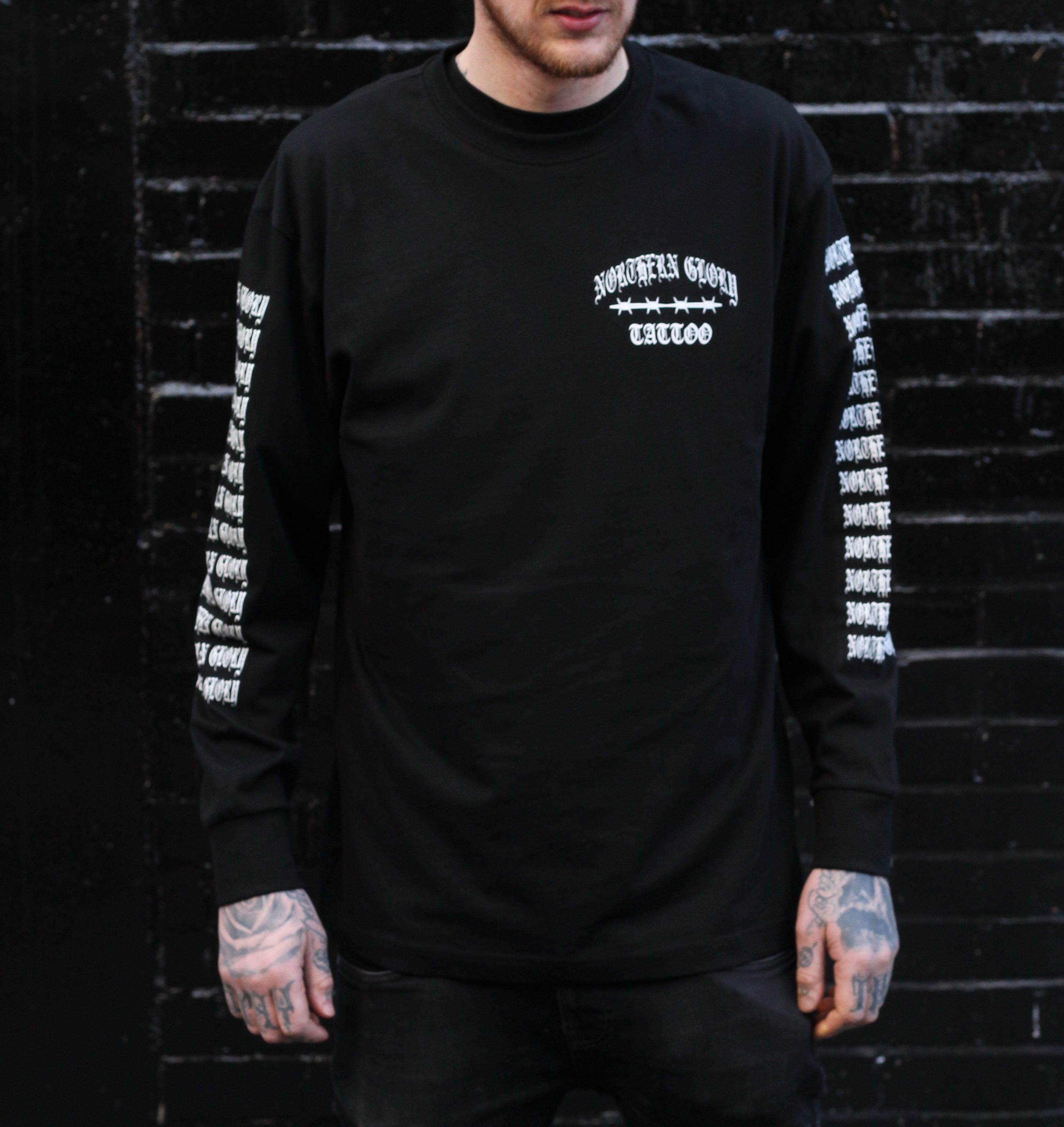 Northern Glory Longsleeve Tee - Black