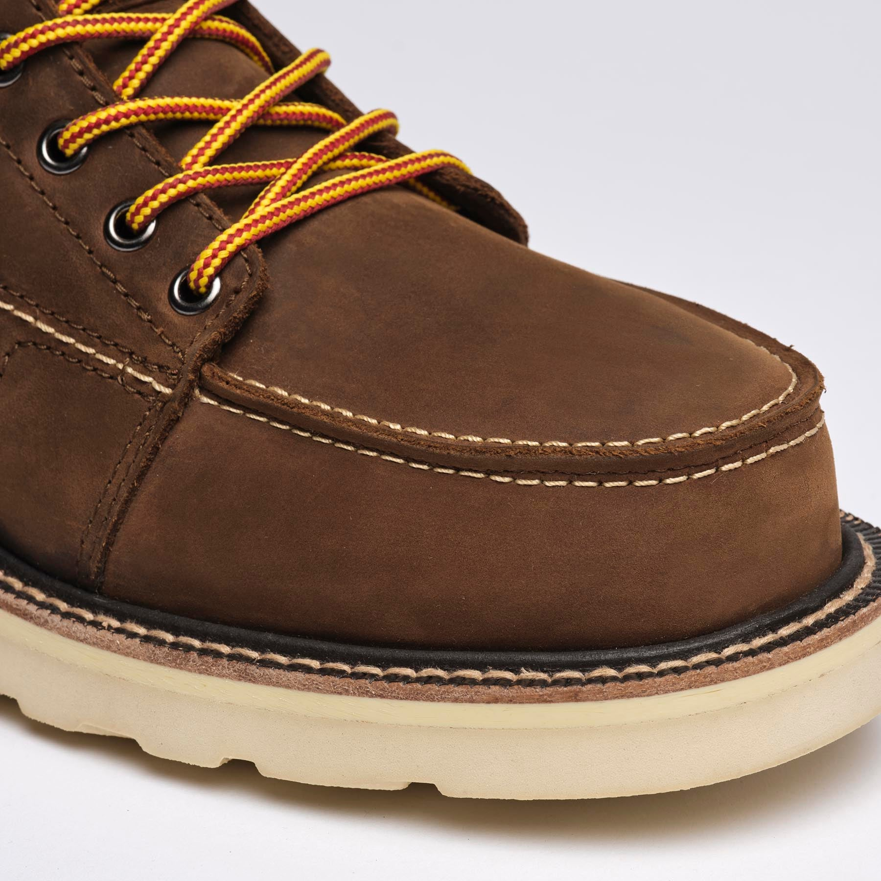details matter - qltyobjective.com - The DNVR Steel-toe boots are built tough. Feature asymmetrical toe caps that maximize protection from falling objects and reduce the severity of injuries that may occur in the workplace.