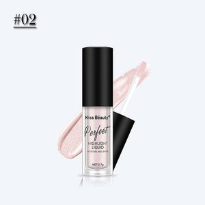 illuminator Makeup Highlighter Face Contouring Makeup Face Brightener Concealer Liquid Highlighter Primer Bronzer Face Glow Kit