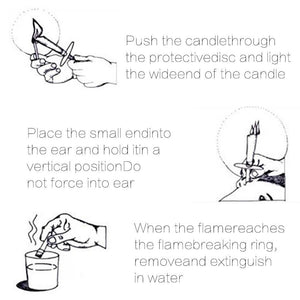 Natural Ear Wax Candle