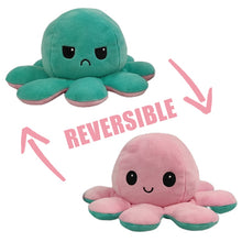 Load image into Gallery viewer, Reversible Flip Octopus Stuffed Plush Doll Soft Simulation Reversible Plush Toy Color Chapter Plush Doll Filled Plush Child Toy