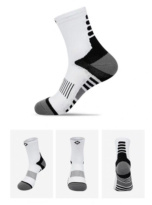 RIGORER ZONE HIGH-QUARTER BASKETBALL SOCKS