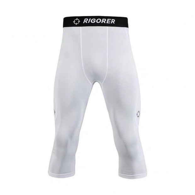 Rigorer 3/4 Training Tights [TT402] Rigorer White S