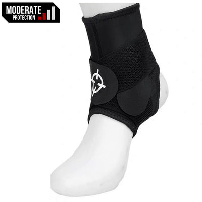 Rigorer Ankle Guard w/ Figure-8 Straps [RA502] Moderate Protection Rigorer Black S