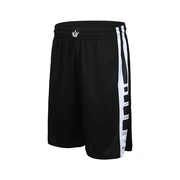 Rigorer Basketball Training Shorts [BS602] Rigorer Dark Black-White XS