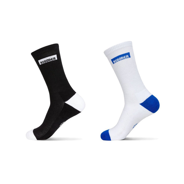 Rigorer Box Logo Crew Sports Socks Rigorer