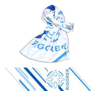 Rigorer Cooling Sports Towel Rigorer White-Sky Blue ONE SIZE