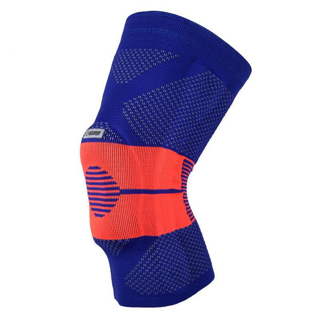Rigorer Gel-Padded Knee Brace w/ Steel Stays [KB001] Advanced Protection Rigorer Blue-Orange S