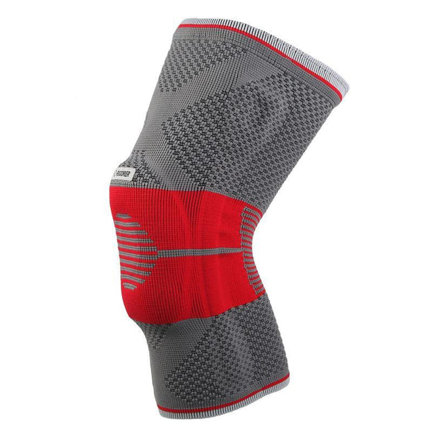 Rigorer Gel-Padded Knee Brace w/ Steel Stays [KB001] Advanced Protection Rigorer Grey-Red S