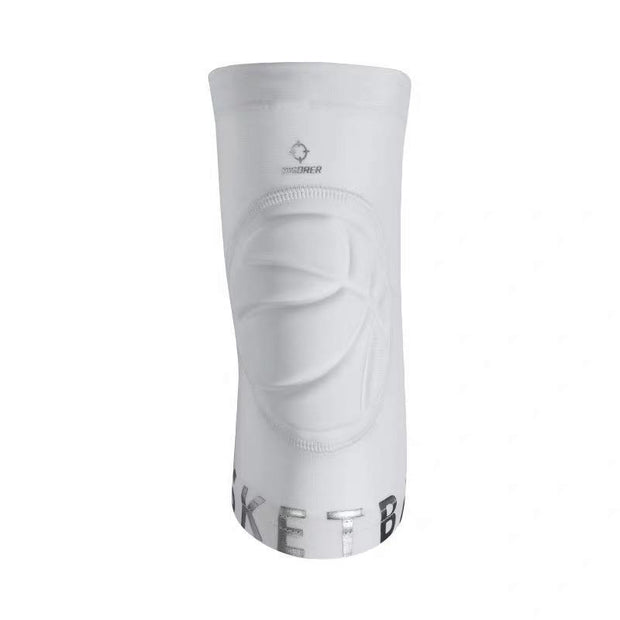 Rigorer Kids Basketball Knee Pad Sleeve [KP0102] Primary Protection Rigorer White S (For Height 130cm)