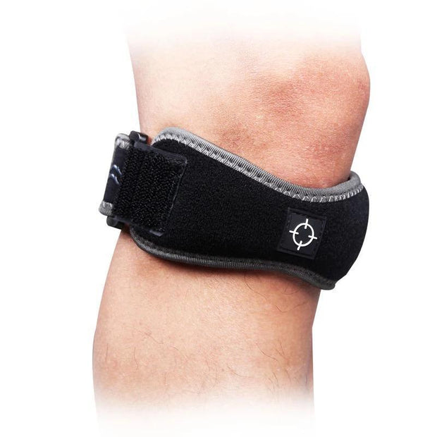 Rigorer Knee Patella Support Strap [PS008] Advanced Protection Rigorer Black ONE SIZE