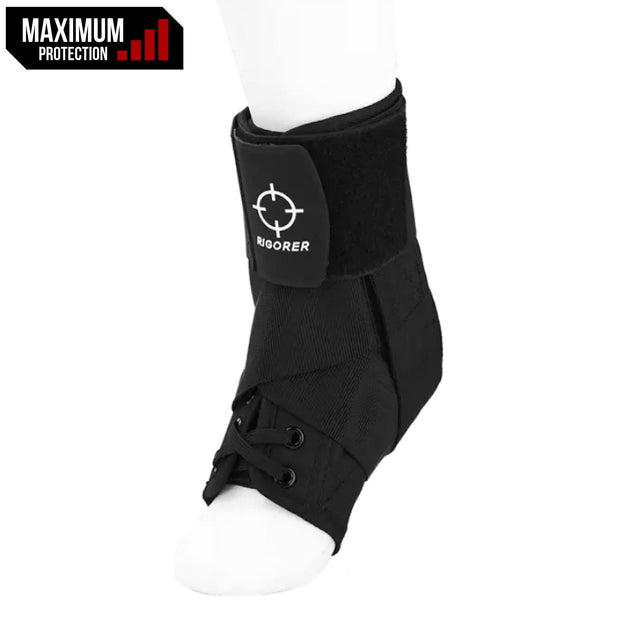 Rigorer Laced Ankle Brace w/ Straps [RA007] Maximum Protection DH-6007