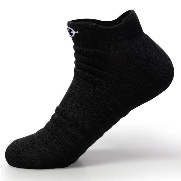 Rigorer Lightweight Cushioned Low Cut Sports Socks Rigorer Black ONE SIZE