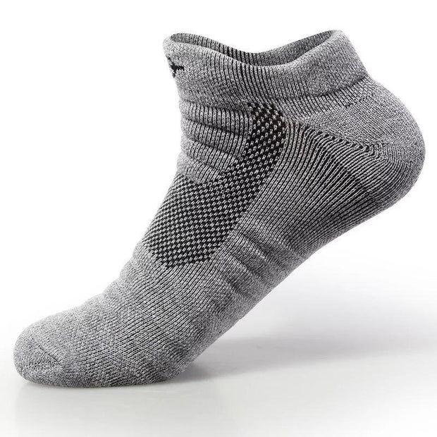 Rigorer Lightweight Cushioned Low Cut Sports Socks Rigorer Grey ONE SIZE