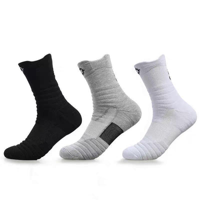 Rigorer Max Cushioned Crew Basketball Socks [W-08] Rigorer