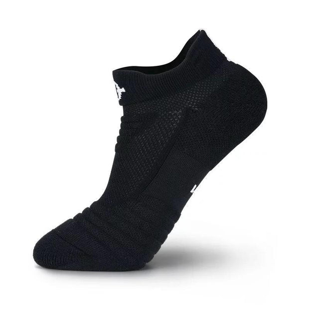Rigorer Max Cushioned Low Cut Running Socks Rigorer Black-Black ONE SIZE