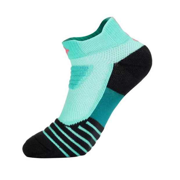 Rigorer Max Cushioned Low Cut Running Socks Rigorer Mint Green-Black ONE SIZE