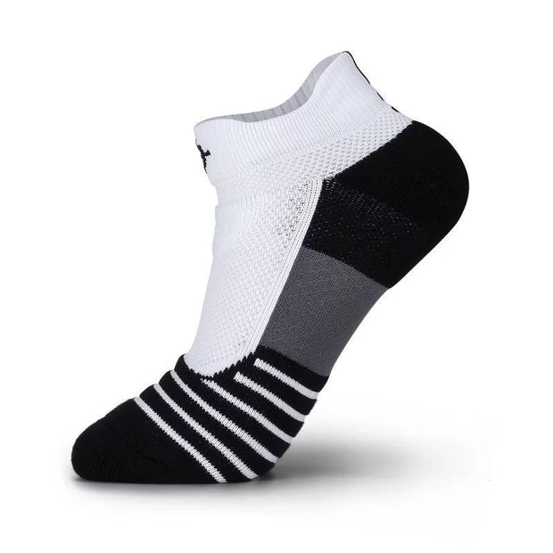 Rigorer Max Cushioned Low Cut Running Socks Rigorer White-Black-Grey ONE SIZE