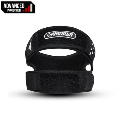 Rigorer Patella Dual Knee Strap [PS301] Advanced Protection Rigorer Black ONE SIZE