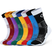 Rigorer Premium Max Cushioned Basketball Socks W/ NBA Teams Colour Scheme Rigorer
