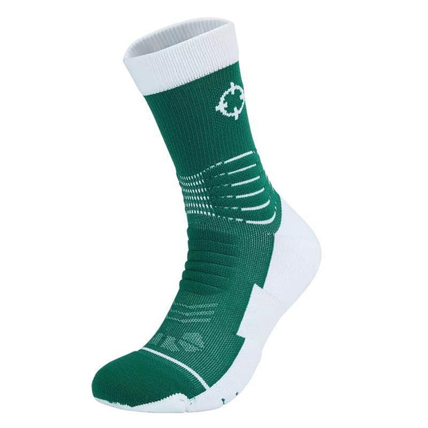 Rigorer Premium Max Cushioned Basketball Socks W/ NBA Teams Colour Scheme Rigorer ONE SIZE Celtics
