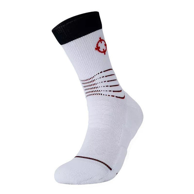 Rigorer Premium Max Cushioned Basketball Socks W/ NBA Teams Colour Scheme Rigorer ONE SIZE Wizards