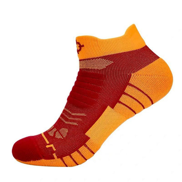 Rigorer Premium Max Cushioned Low Cut Basketball Socks W/ NBA Teams Colour Scheme Rigorer ONE SIZE Cavaliers