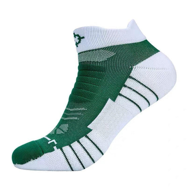 Rigorer Premium Max Cushioned Low Cut Basketball Socks W/ NBA Teams Colour Scheme Rigorer ONE SIZE Celtics