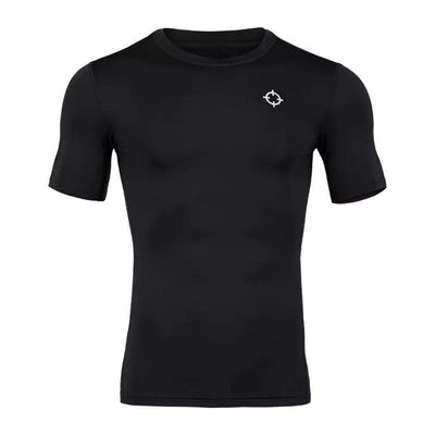 Rigorer Short Sleeve Compression T-Shirt [SC602] Rigorer S Black
