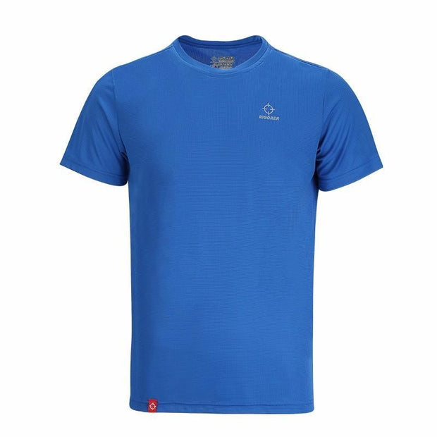 Rigorer Sports Short Sleeve T-Shirt Rigorer Blue XS