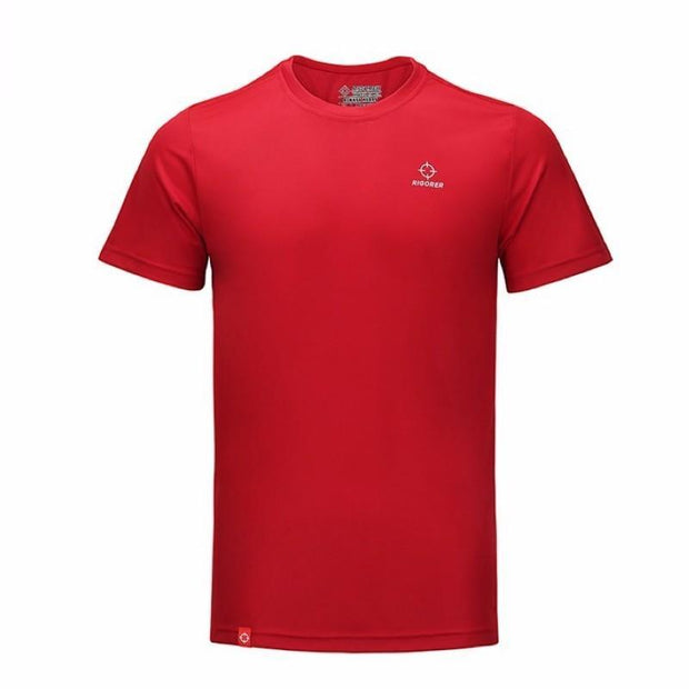 Rigorer Sports Short Sleeve T-Shirt Rigorer Red XS