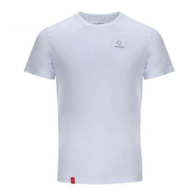 Rigorer Sports Short Sleeve T-Shirt Rigorer White XS