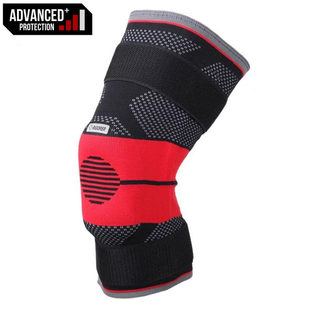 Rigorer Upgraded Gel-Padded Knee Brace w/ Steel Stays [KB009] Advanced⁺ Protection Rigorer
