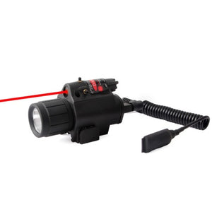 Infrared Torch with Green Laser Sight