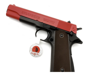KUBLAI P4 1911 GAS BLOWBACK PISTOL-BLACK
