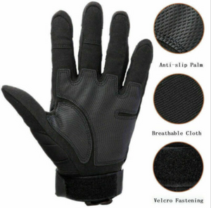 Tactical Hard Knuckle Full Finger Gloves