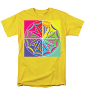 A Rainbow Artwork - Men's T-Shirt  (Regular Fit) - Designs by ndiso