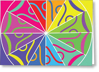 A Rainbow Artwork - Greeting Card - Designs by ndiso